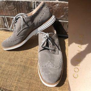 Cole Haan LUNARGRAND Gray Loafer 7.5